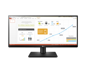 "LG 29UB67-B 29"" Black Matt LED display 