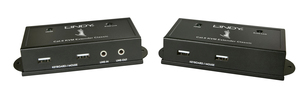 Lindy 39371 Console transmitter & receiver Black console extender | Dodax.co.uk