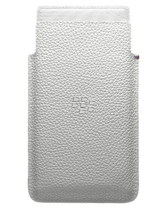 BlackBerry - Leap Leather Pocket, White (ACC-60115-002) | Dodax.at