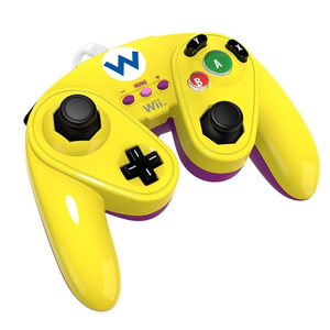 PDP Wired Fight PAD Wario Design analog + digital, | Dodax.at