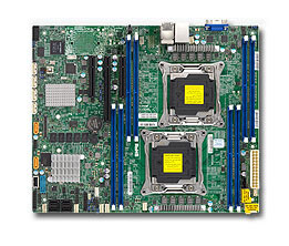 Supermicro X10DRL-C Intel C612 Socket R (LGA 2011) ATX Server-/Workstation-Motherboard | Dodax.at