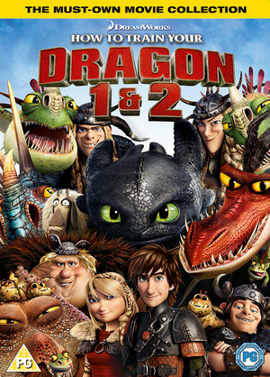 20th Century Fox How To Train Your Dragon 1 & 2 | Dodax.co.uk
