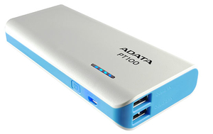 Adata PowerPack PT100 White/Blue | Dodax.at