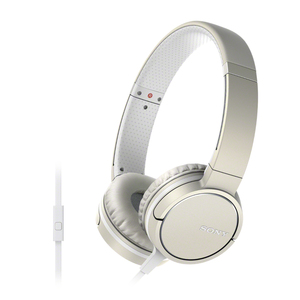 Sony - Supraaural On-ear Headphones, Cream (MDRZX660APC) | Dodax.ch