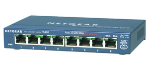 Netgear FS108: 8 Port Switch | Dodax.at