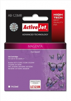 ActiveJet AB-123MR ink cartridge | Dodax.ca
