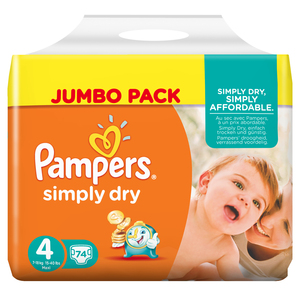 Pampers Simply Dry | Dodax.at
