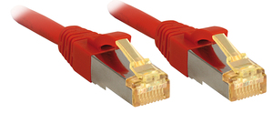 Lindy 47293 1.5m Cat7 S/FTP (S-STP) Red networking cable   Dodax.com