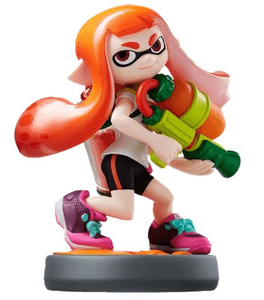 Nintendo - amiibo Splatoon Inkling Girl Collectible Figure (1071366) | Dodax.at
