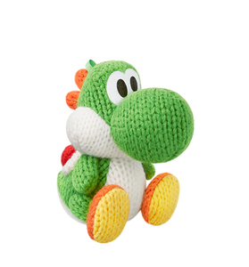 Nintendo - amiibo Green Yarn Yoshi Collectible Figure (1071766) | Dodax.at