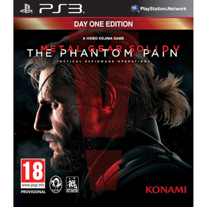 Metal Gear Solid V: The Phantom Pain Day One Edition; German Version - PS3 | Dodax.ch