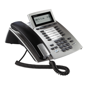 AGFEO ST 22 2Zeilen Wired handset Silber | Dodax.at