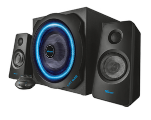 Trust GTX 628 2.1 Illumimated Speaker Set | Dodax.ch