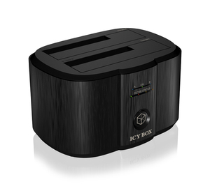 ICY BOX IB-124CL-U3, 2-Fach HDD Dock/Klon | Dodax.at
