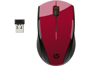 HP - Wireless Mouse X3000, Red (N4G65AA#ABB) | Dodax.ch