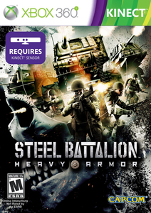 Steel Battalion Heavy Armor Uk Edition - XBox 360 | Dodax.co.jp