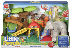 Fisher-Price - Little People  Maxi-Tierwelt Zoo (CHF55) | Dodax.ch