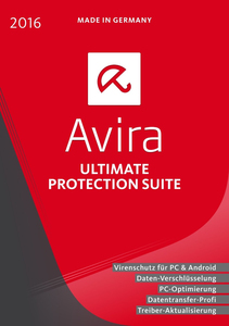Avira - Ultimate Protection Suite 2016 | Dodax.at