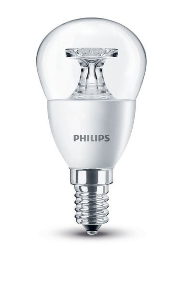 Philips LED Lampe P45 E14 5W (40W) WW kl ND | Dodax.at