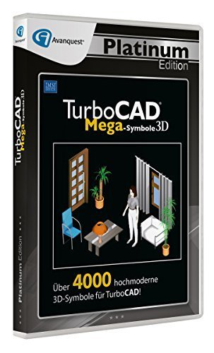TurboCAD 3D Mega-Symbole, 1 DVD-ROM | Dodax.at