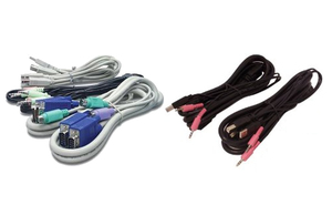 Avocent - KVM Cable 1,8m 1-DVI-I 1-USB 2-3.5mm SV 200 (CBL0118) | Dodax.ch