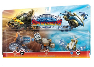 Activision - Skylanders Trap Team Triple Pack: High Five, Trail Blazer, Jet Vac S3 (87209EU) | Dodax.at