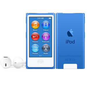 Apple iPod Nano, 16GB, Blau, 2015, | Dodax.at