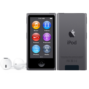 Apple iPod Nano, 16GB, Spacegrey, 2015, | Dodax.at