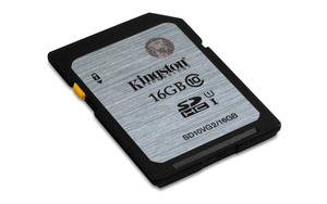 SDHC Card 16GB Kingston, UHS-I, 45MB/s | Dodax.at