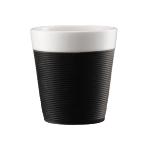 Image of Bodum - Bistro Mugs with Silicone Sleeve 0.17 L, 2 pcs (11581-01)