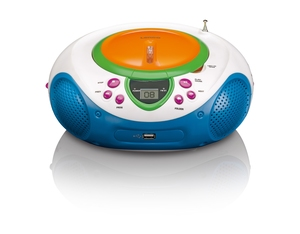 Lenco SCD-40, Tragbarer Kinder CD-Player | Dodax.ch