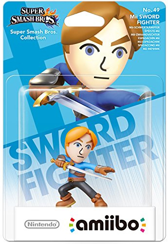 Nintendo - amiibo Mii Sword Fighter No.49 Collectible Figure (1073866) | Dodax.at