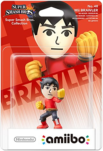 Nintendo - amiibo Mii Brawler No.48 Collectible Figure (1073766) | Dodax.ch