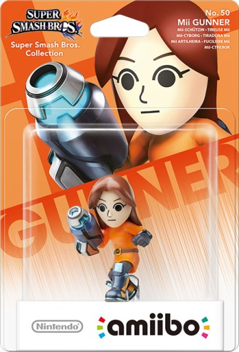 Nintendo - amiibo Mii Gunner No.50 Collectible Figure (1073966) | Dodax.co.uk
