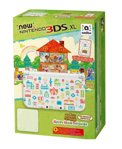 New Nintendo 3DS XL Konsole + Animal Crossing Happy Home Designer, Konsole + Nintendo 3DS-Spiel | Dodax.at