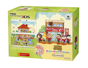 New Nintendo 3DS Konsole + Animal Crossing Happy Home Designer, Konsole + Nintendo 3DS-Spiel | Dodax.at