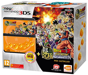 New Nintendo 3DS Konsole + Dragonball Z Extreme Butoden, Konsole + Nintendo 3DS-Spiel | Dodax.at