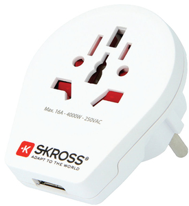 Skross 1.500260 Netzstecker-Adapter | Dodax.ch