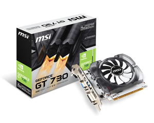 MSI N730-4GD3V2 NVIDIA GeForce GT 730 4GB | Dodax.at