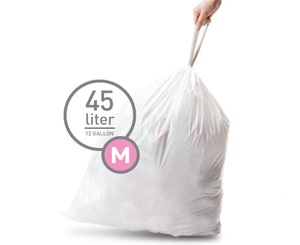 simplehuman - Trash Bags 45 L, 20 bags (CW0173) | Dodax.co.uk