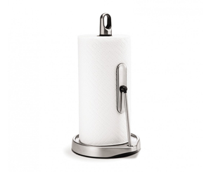 simplehuman - Tall Tension Arm Kitchen Roll Holder Tabletop Stainless Steel (KT1161) | Dodax.ch
