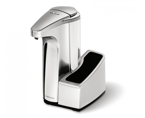 simplehuman - Sensor Pump with Caddy Nickel 384ml (ST1031) | Dodax.ch