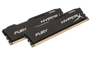 HyperX FURY Memory Low Voltage 8GB DDR3L 1866MHz Kit 8GB DDR3L 1866MHz Speichermodul | Dodax.ch