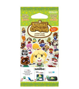 Nintendo - amiibo Animal Crossing Happy Home Designer Cards Pack (1079266) | Dodax.co.uk