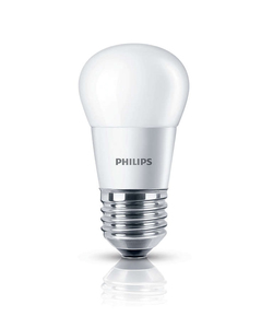 Philips LED Lampe P45 E27 5W (40W) WW mt ND | Dodax.at