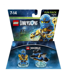 Warner Bros - Lego Dimensions Fun Pack Ninjago Jay (W3X04871639) | Dodax.at