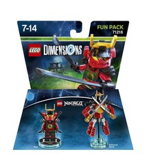 Warner Bros - Lego Dimensions Fun Pack Ninjago Nya (W3X04871640) | Dodax.at