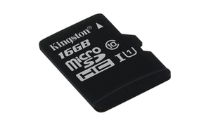 microSDHC Card 16GB Kingston, ohne SD Adap | Dodax.co.jp