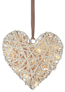 LED Willow Heart creme | Dodax.ch