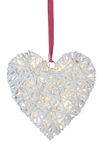 LED Willow Heart weiss | Dodax.at